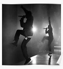 Kendrick Lamar & Travis Scott Poster