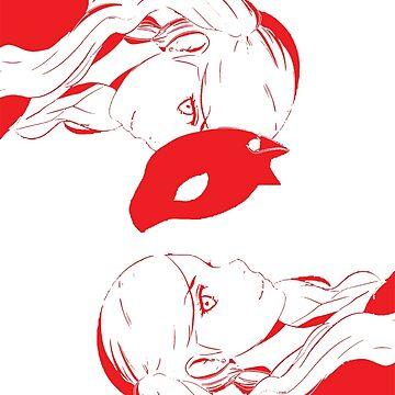 Persona 5 Ann fan art  by movesouth