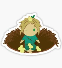 Duck Nap Sticker