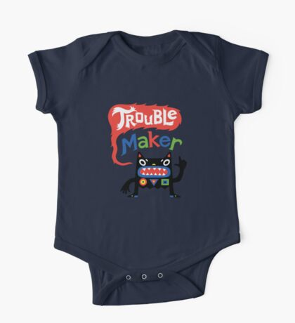 Trouble Maker V - black monster Kids Clothes
