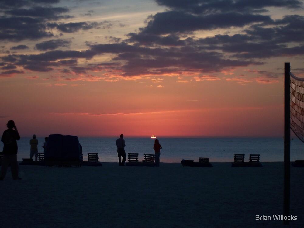 St Pete Beach @ Sunset by Brian Willocks