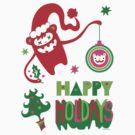 Monster Holidays by Andi Bird