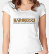 Bakerloo Line Women's Fitted Scoop T-Shirt
