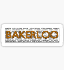 Bakerloo Line Sticker