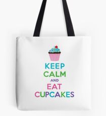 Keep Calm and Eat Cupcakes ll Tote Bag