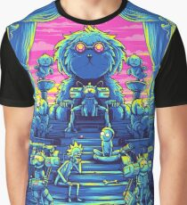 Lord Snowball - Rick and Morty Graphic T-Shirt