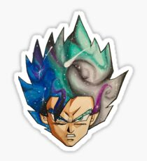Goku Galaxy Sticker