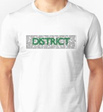 District Line Unisex T-Shirt