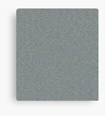 static #2 white noise add noise Canvas Print