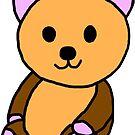 Teddy bear by Teresa Hulbert
