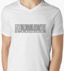 Jubilee Line Men's V-Neck T-Shirt