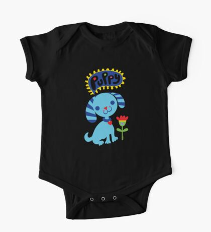 Cute Puppy Kids Clothes