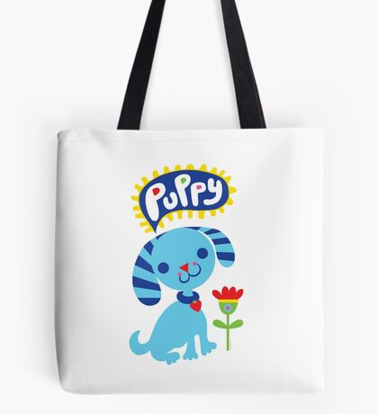 Cute Puppy Tote Bag