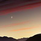 Sunset over Queenstown. by Alex Preiss