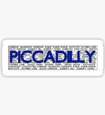 Piccadilly Line Sticker