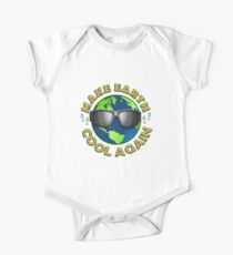 Climate March for Justice Make Earth Cool Again One Piece - Short Sleeve