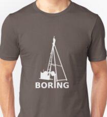 Boring (White) Unisex T-Shirt