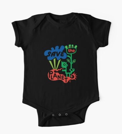 Save the Planet  Kids Clothes