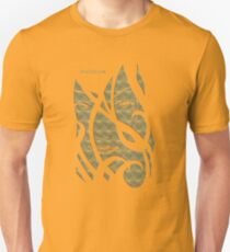 Mask gold metalic T-Shirt
