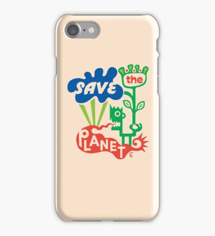 Save the Planet  iPhone Case/Skin