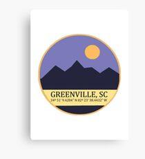 Greenville, SC Canvas Print