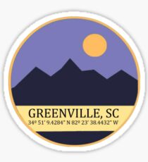 Greenville, SC Sticker
