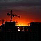 Urban Sunrise by Linda Bianic