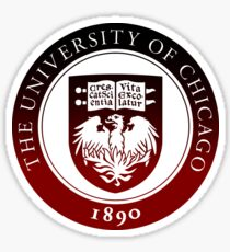 University of Chicago Sticker