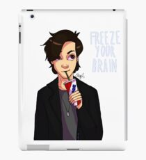 suck on that straw get lost in the pain iPad Case/Skin
