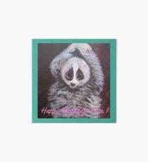 Happy Birthday Mum! Lemur Art Board