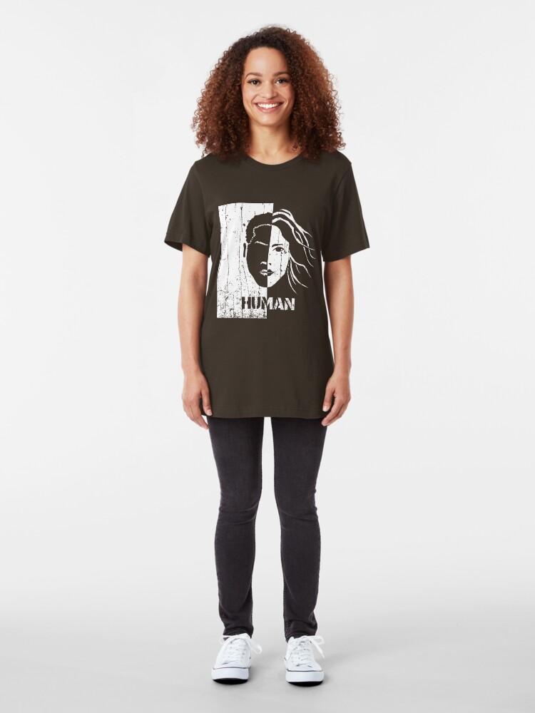 Alternate view of Human Slim Fit T-Shirt