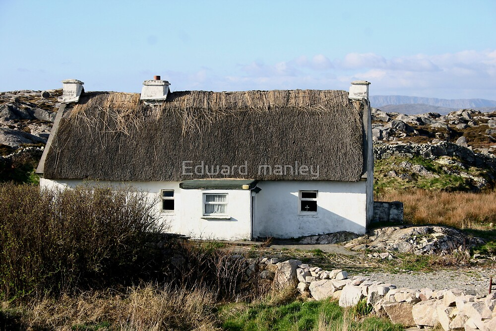 old home stead Ireland by Edward  manley