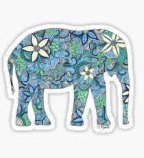 Paisley Elephant  Sticker