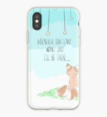 """""""I'll be there."""" iPhone Case"""