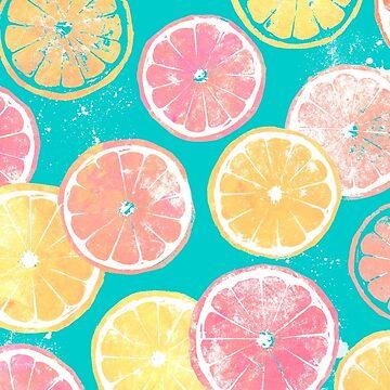 Juicy Grapefruit Slices by ArtVixen