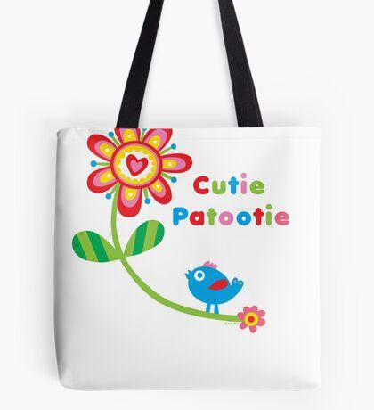 Cutie Patootie - on lights Tote Bag