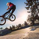 High BMX jump by homydesign