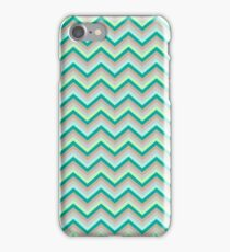 Retro Zig Zag Chevron Pattern iPhone Case/Skin