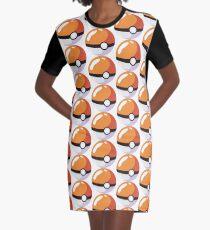 Gotta Catch 'Em All Graphic T-Shirt Dress