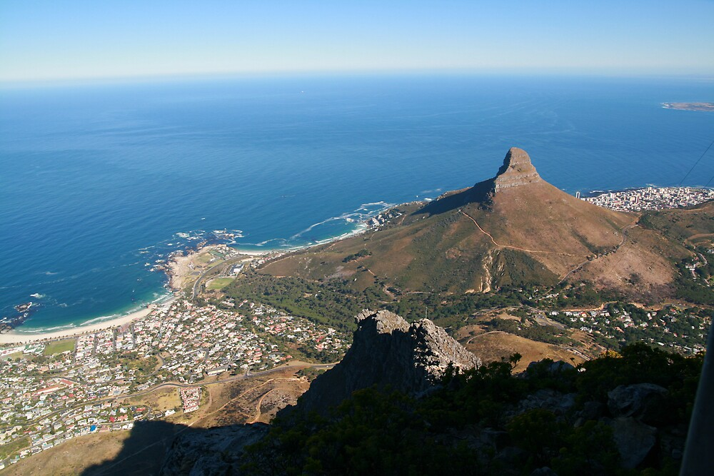 View from Table Mountain by Roux Nel