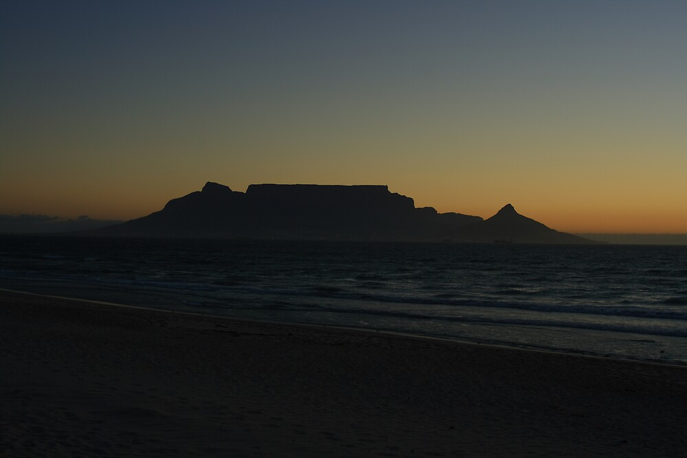 CapeTown Sunset by Roux Nel