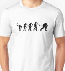 Ice Hockey Evolution Of Man T Shirt Unisex T-Shirt