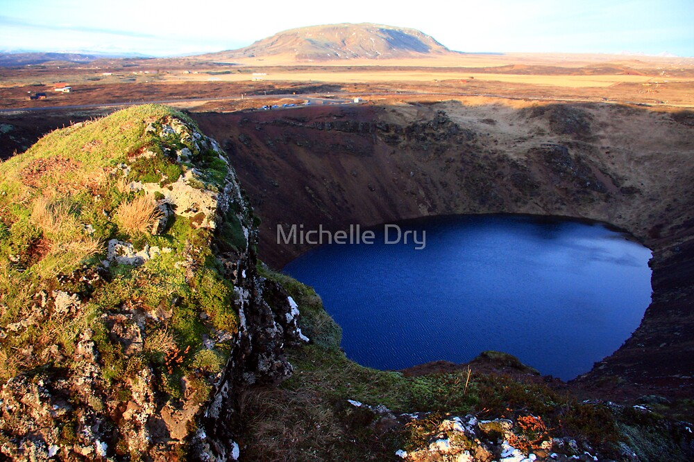 The crater. by Michelle Dry