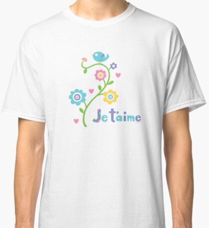 je t'aime - i love you - lights Classic T-Shirt