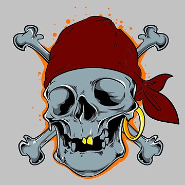 Pirate skull by AlexDouMan