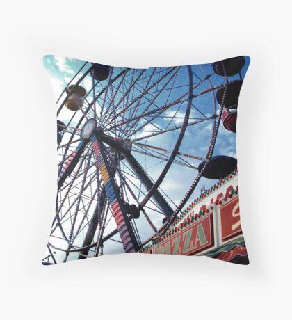 Pizza Wheel Throw Pillow