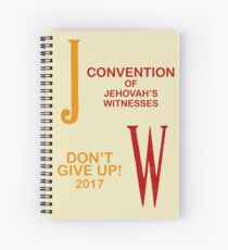 JW (English) Spiral Notebook