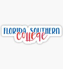 Florida Southern College - Style 1 Sticker