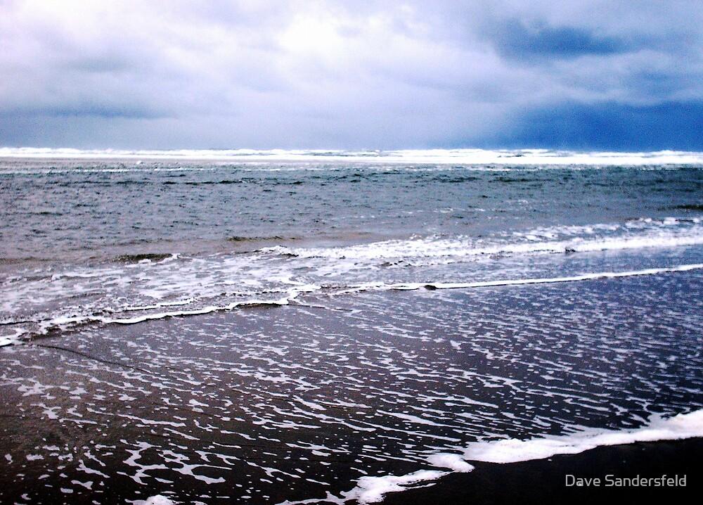 Chilly Surf!! by Dave Sandersfeld