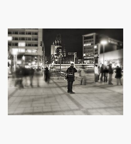 A Moment Of Stillness In the World Of Chaos Photographic Print
